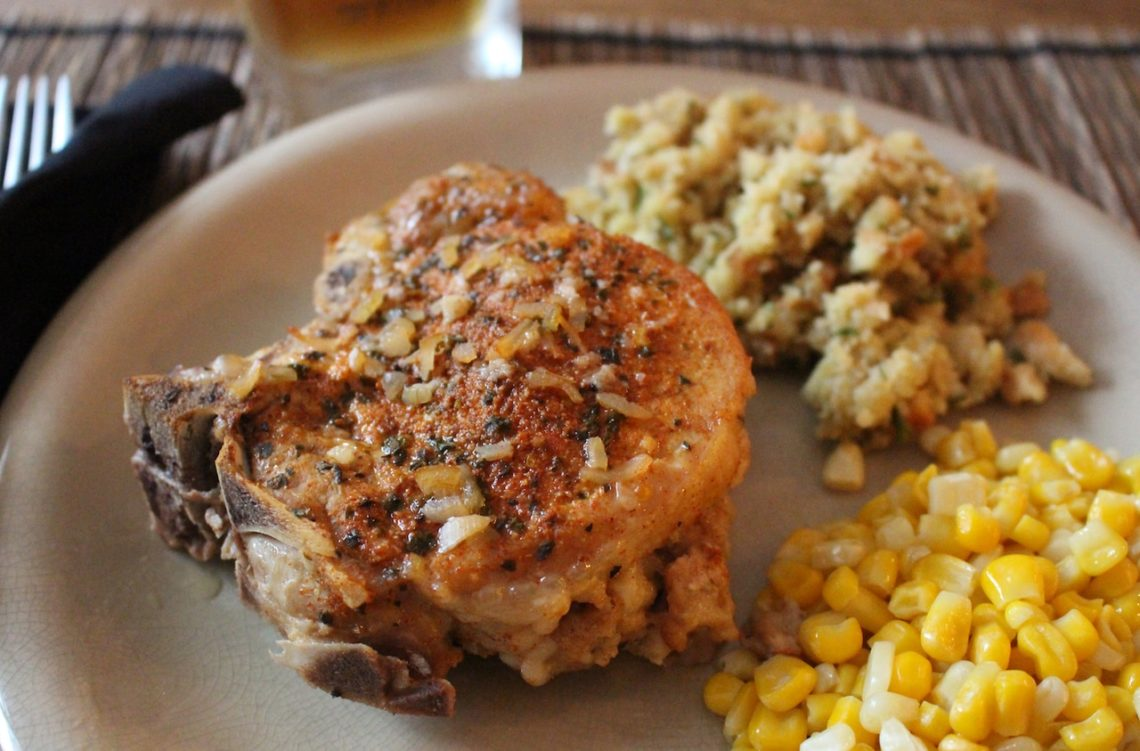 Dry-Rubbed Pork Chops