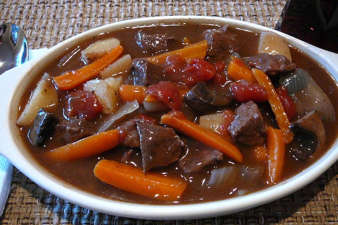Venison Burgundy Stew