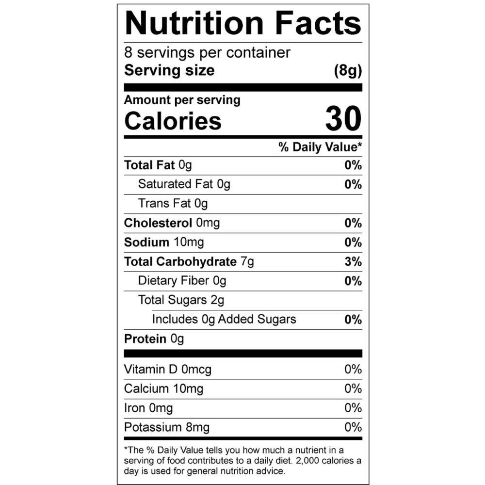 cinnamon toast nutrition
