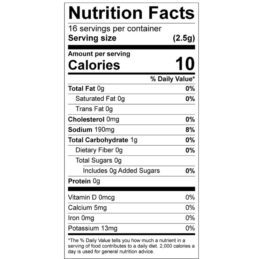 dill pickel nutrition facts
