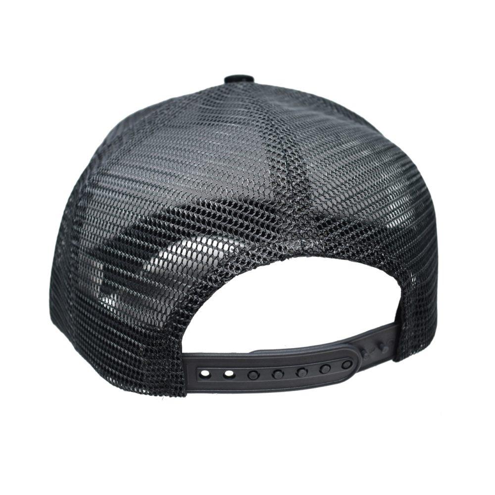 Skullz Outdoors Embroidered Cap black/grey mesh back