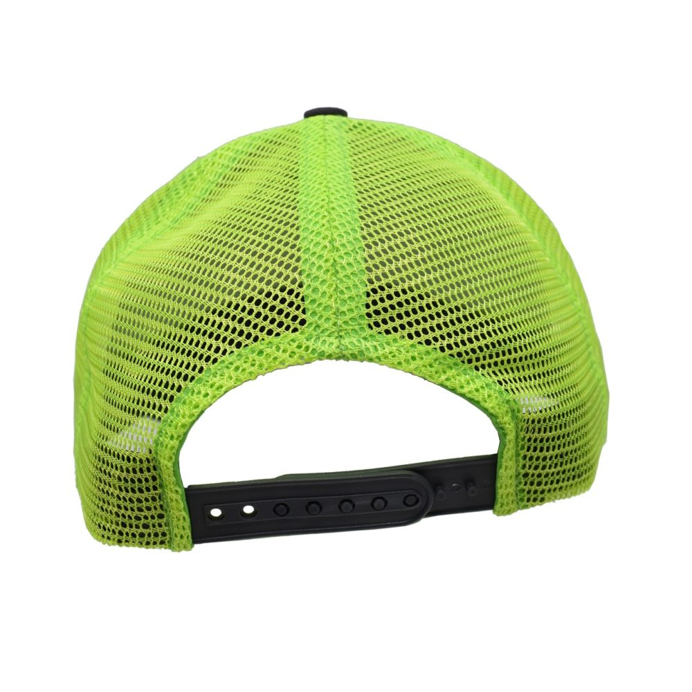 Skullz Outdoors Embroidered Cap charcoal/chartreuse mesh back