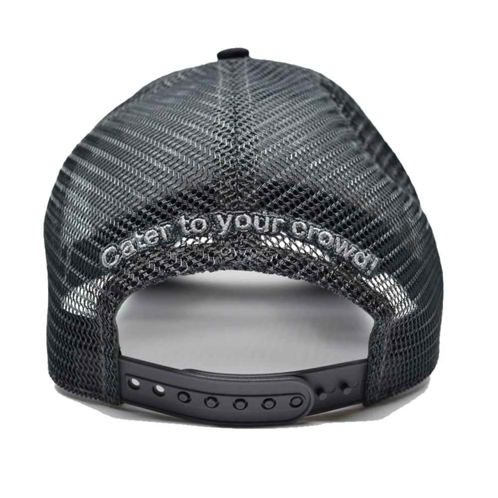 CanCooker Mesh Hat - Black and Silver