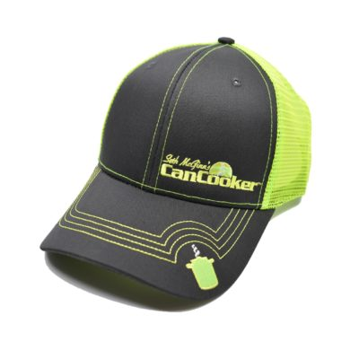 CanCooker Mesh Hat - Lime Green and Black