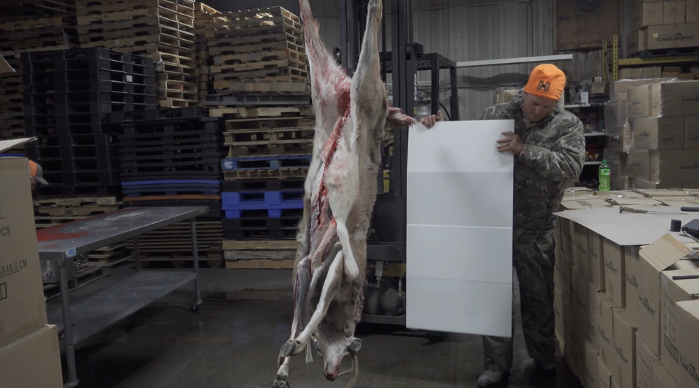 Exclusive Deer Meat for Dinner Plank Cutting Board