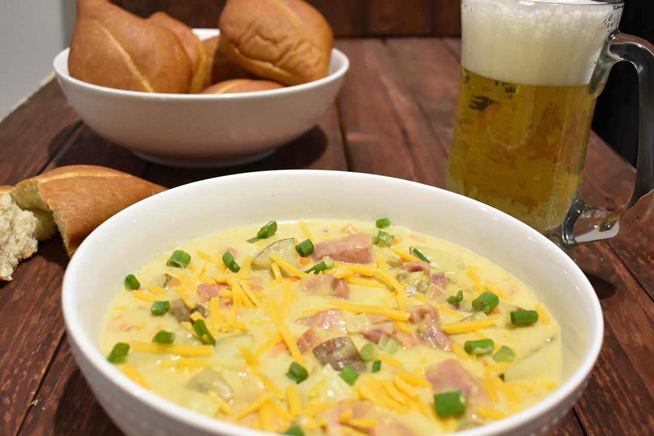 Scalloped Potato & Ham Soup