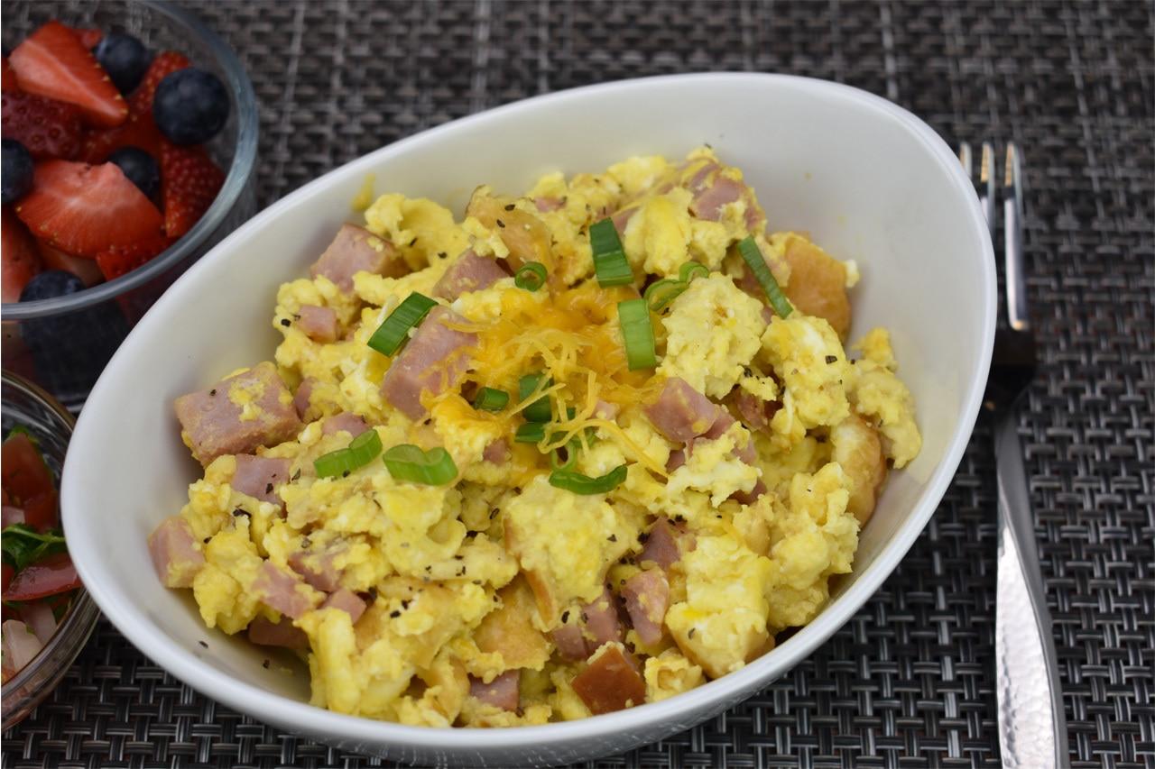 Scrambled Eggs & Ham