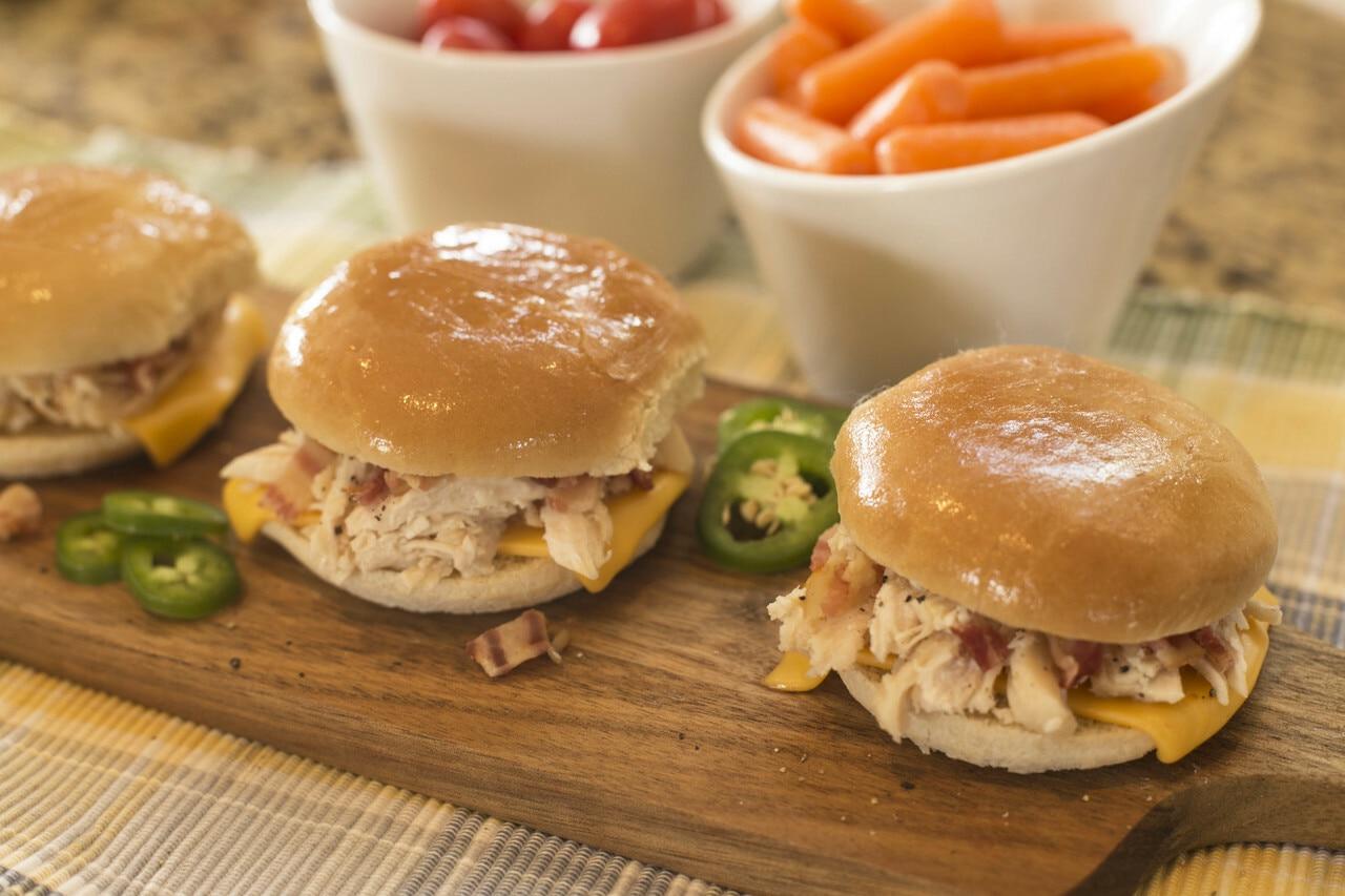 Bacon-Ranch Chicken Melts