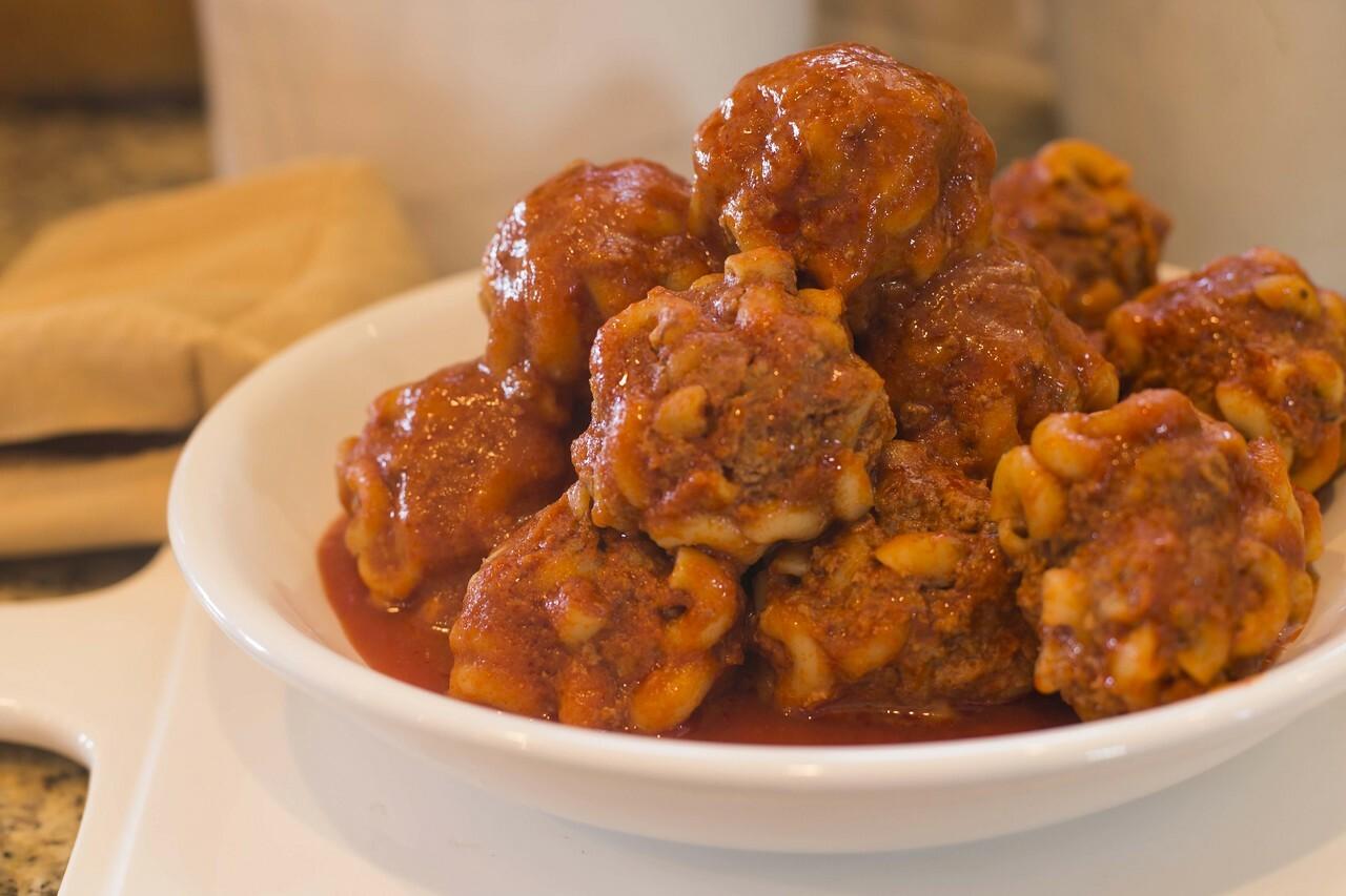 Macaroni Meatballs