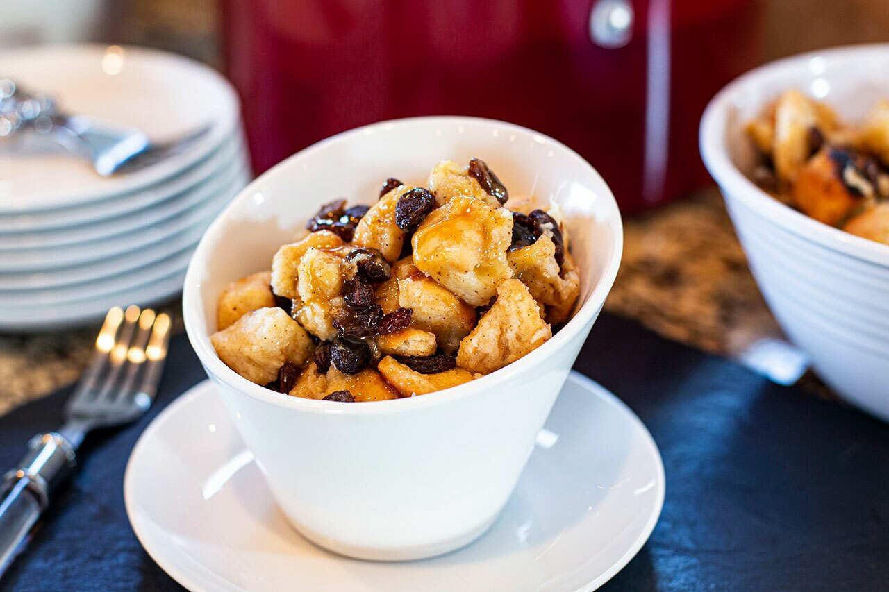 CanCooker Bread Pudding