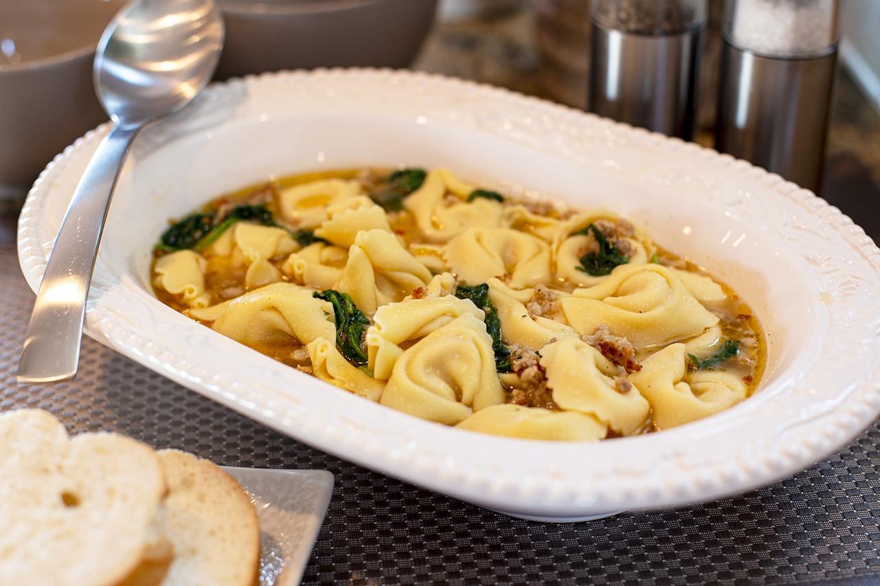 CanCooker Sausage & Tortellini Soup Recipe
