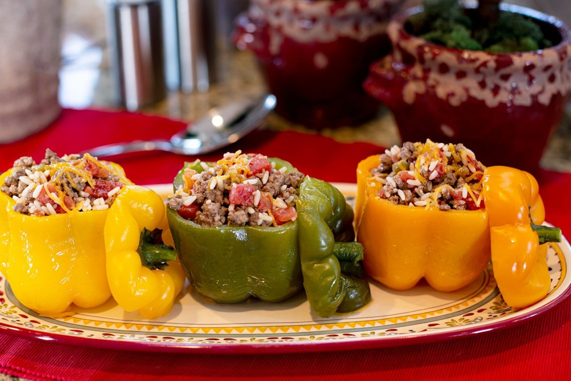 CanCooker Stuffed Peppers Recipe
