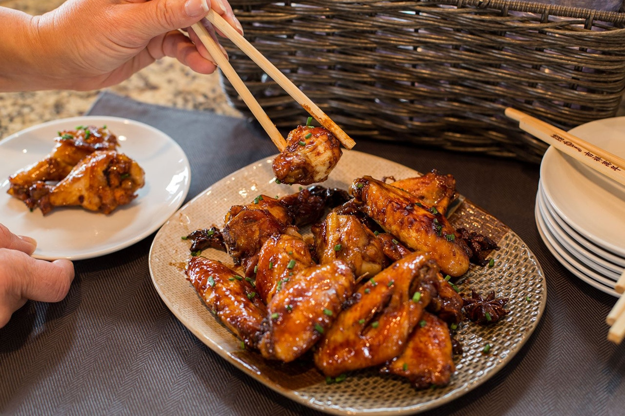 CanCooker Asian Glazed Chicken Wings