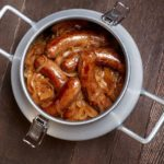 CanCooker Caramelized Onions and Brats
