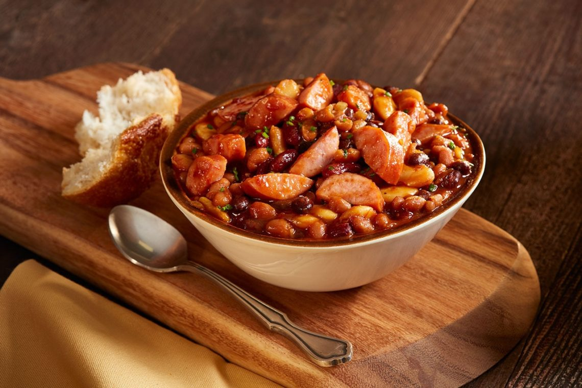 CanCooker Sausage Baked Beans