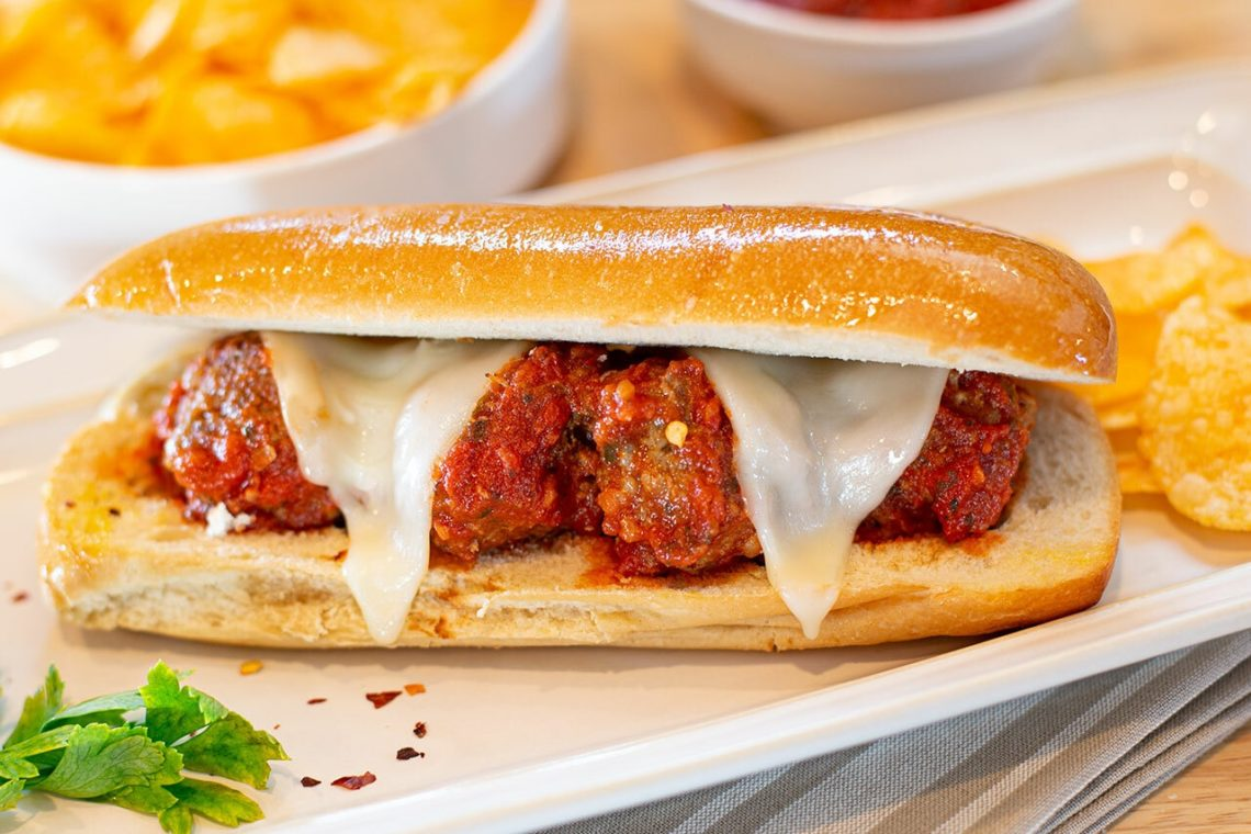 Recipe for Spicy Italian Meatball Subs