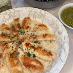 Chicken with Garlic Parmesan Rice