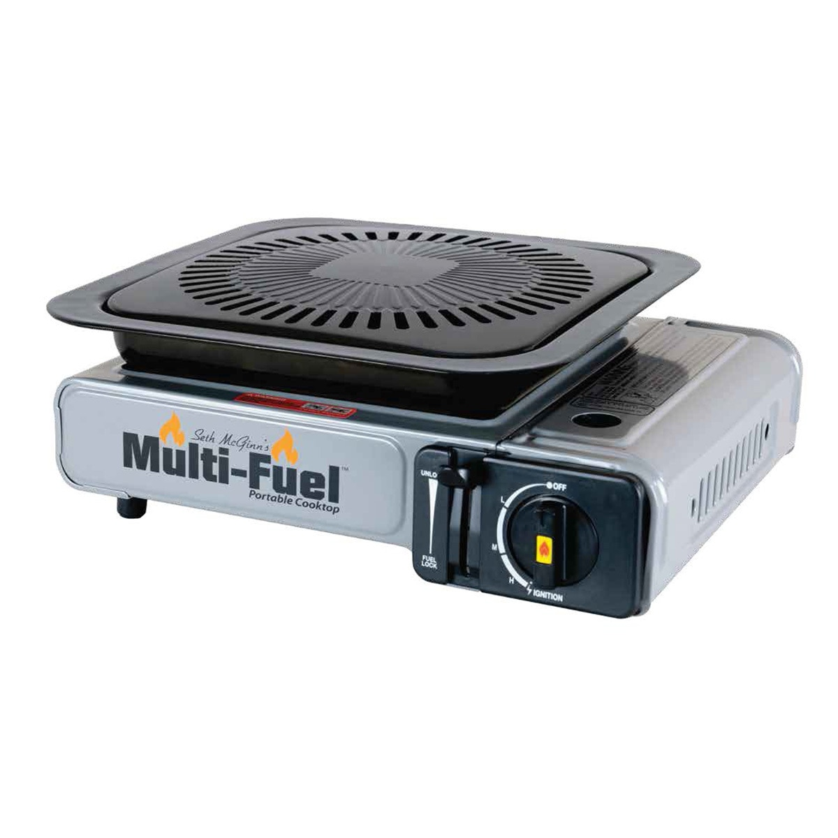 Portable Conversion Grill & Multi-Fuel Portable Cooktop