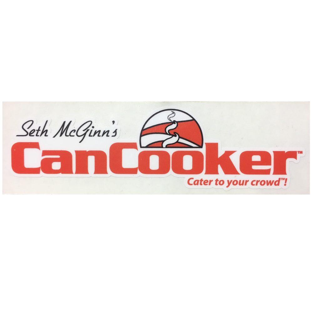 CanCooker Colored Sticker