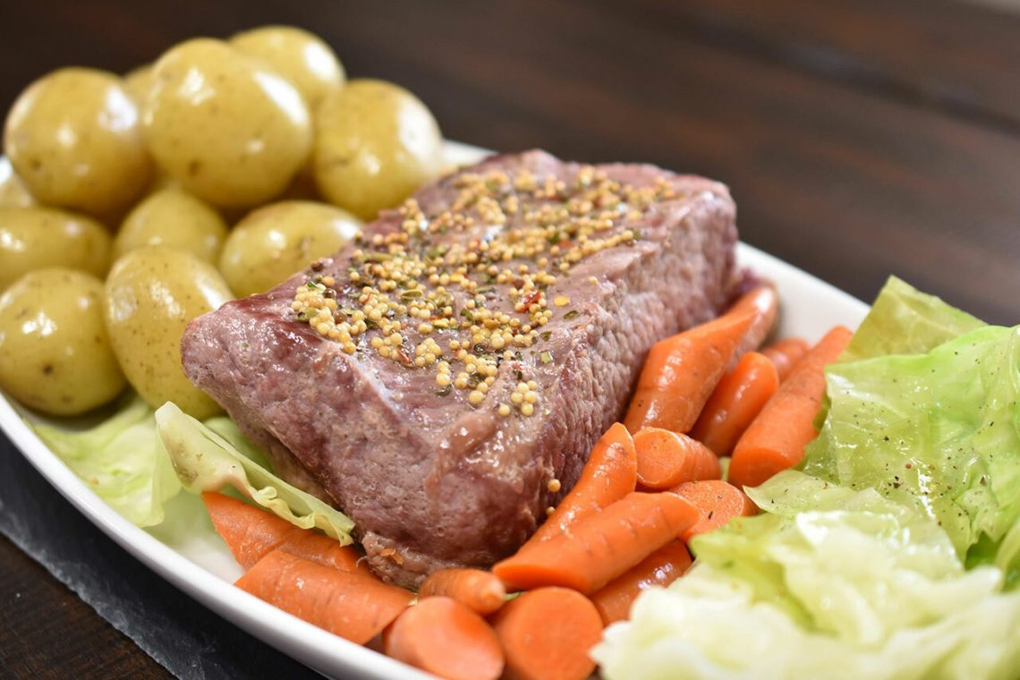 CanCooker Corned Beef and Cabbage Recipe