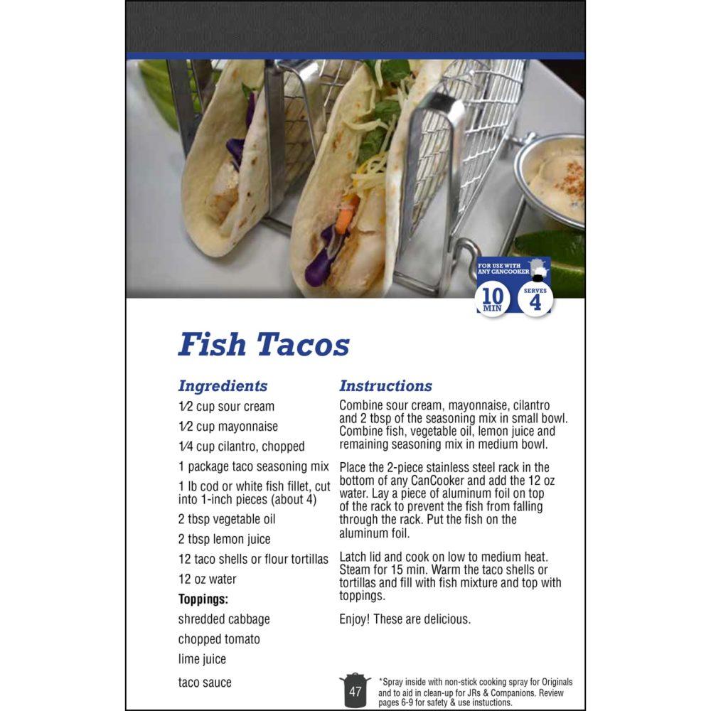 CanCooker Cookbook Volume II - Recipe