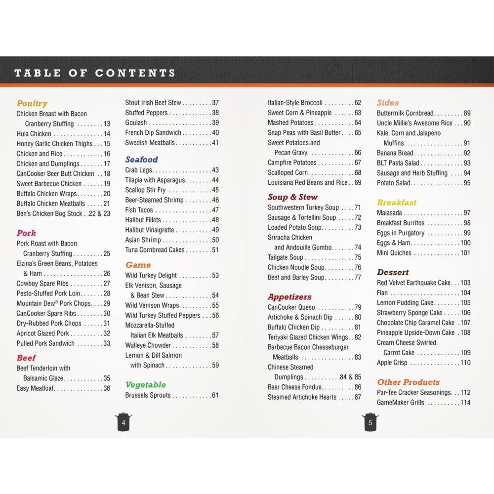CanCooker Cookbook Volume II - Recipes