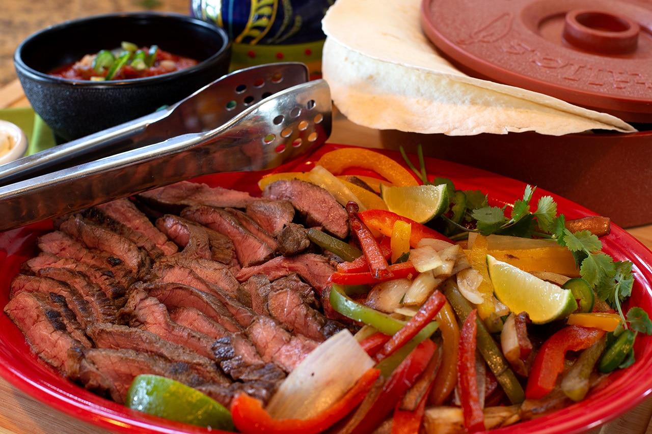 Beef Steak Fajitas