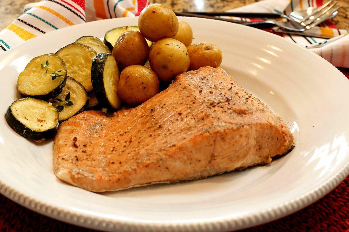 Sweet & Tangy Salmon