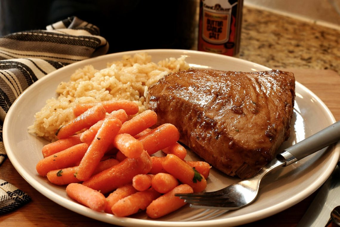Ginger Tuna Steaks