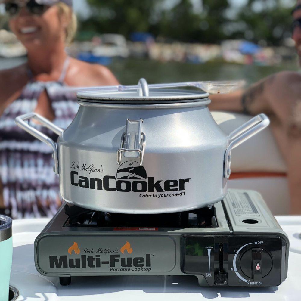 multi fuel cooktop